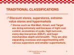traditional classifications4