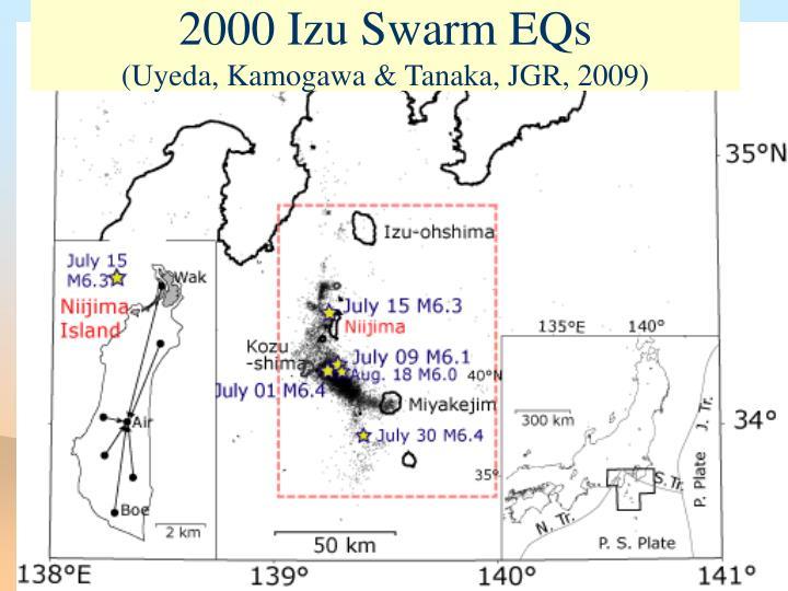 2000 Izu Swarm EQs