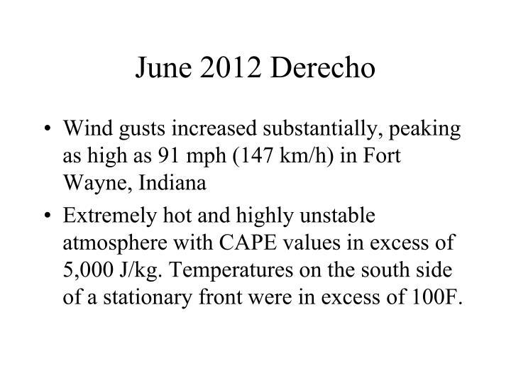 June 2012 Derecho