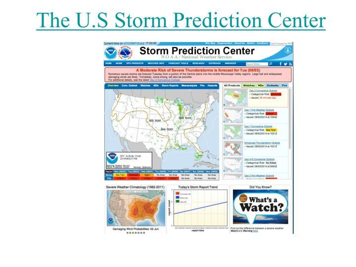 The U.S Storm Prediction Center