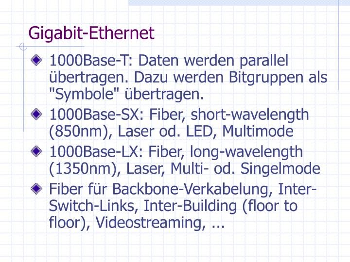 Gigabit-Ethernet