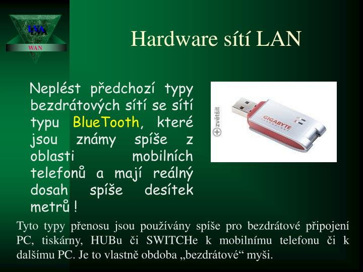 Hardware sítí LAN