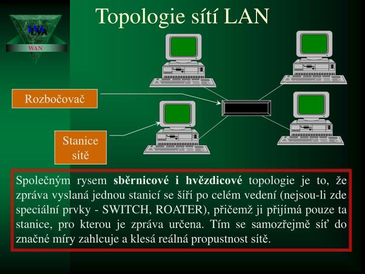 Topologie sítí LAN
