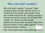 why now beef noodles