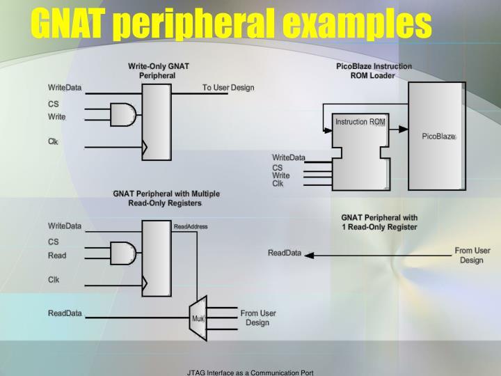 GNAT peripheral examples