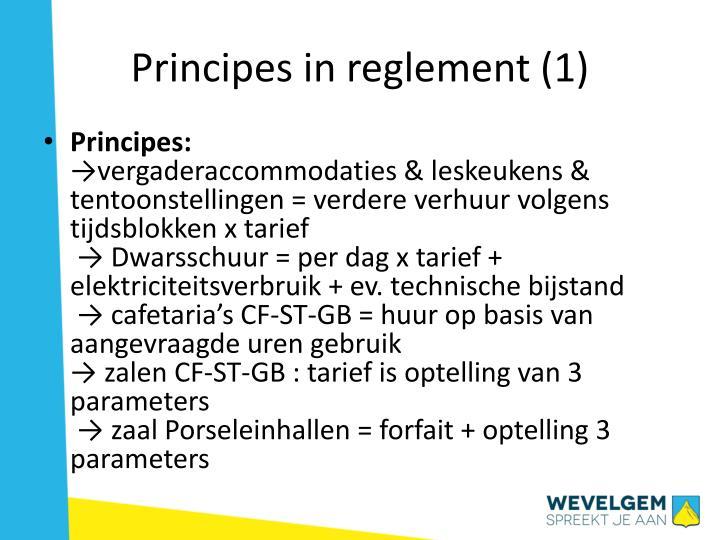 Principes in reglement (1)