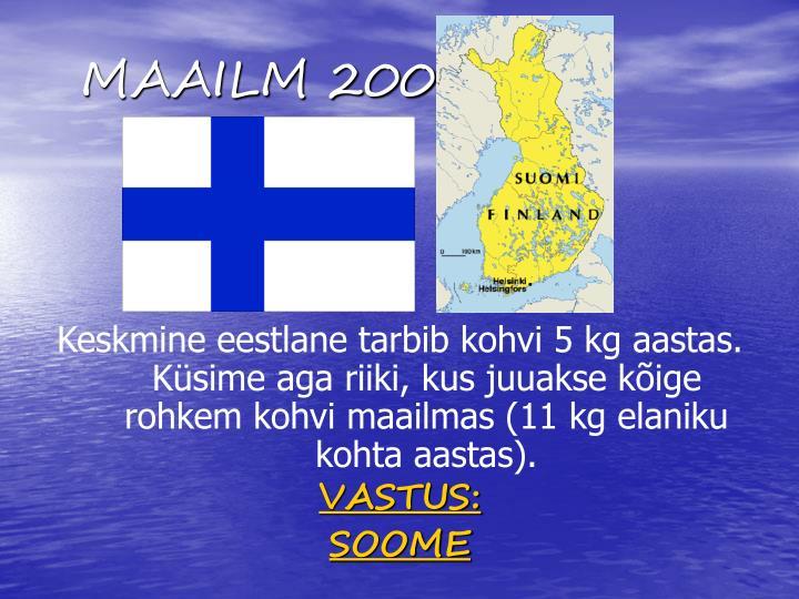 MAAILM 200
