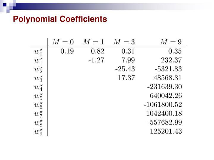 Polynomial Coefficients