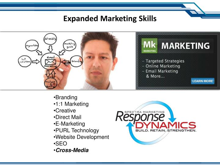 Expanded Marketing Skills