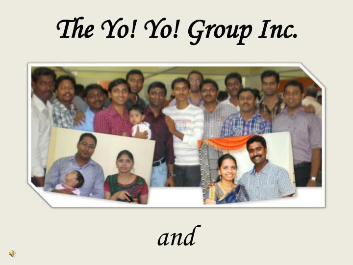 The Yo! Yo! Group Inc.
