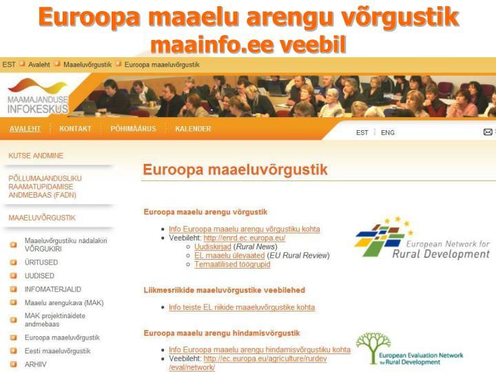 Euroopa maaelu arengu võrgustik