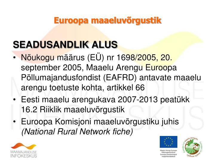 Euroopa maaeluvõrgustik
