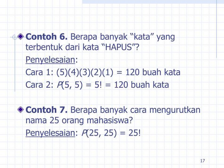 Contoh 6.
