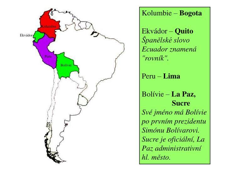 Kolumbie –