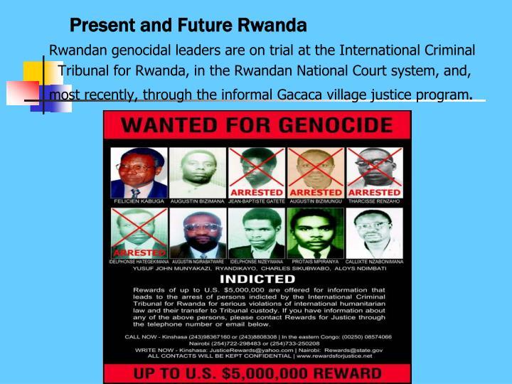 Present and Future Rwanda