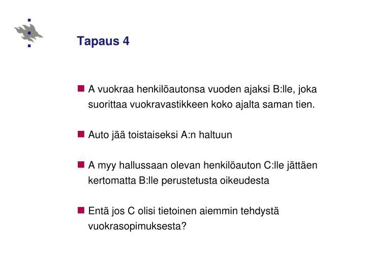 Tapaus 4