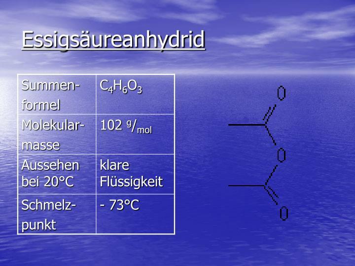 Essigsäureanhydrid
