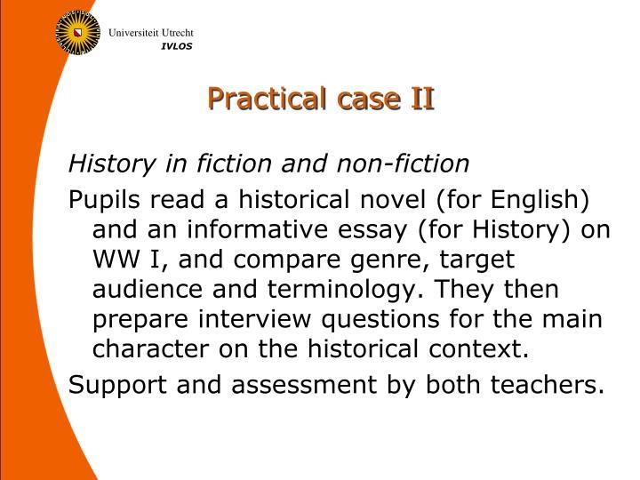 Practical case II