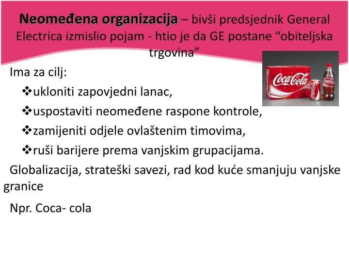 Neomeđena organizacija