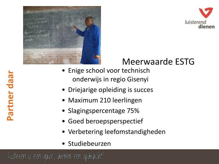 Meerwaarde ESTG