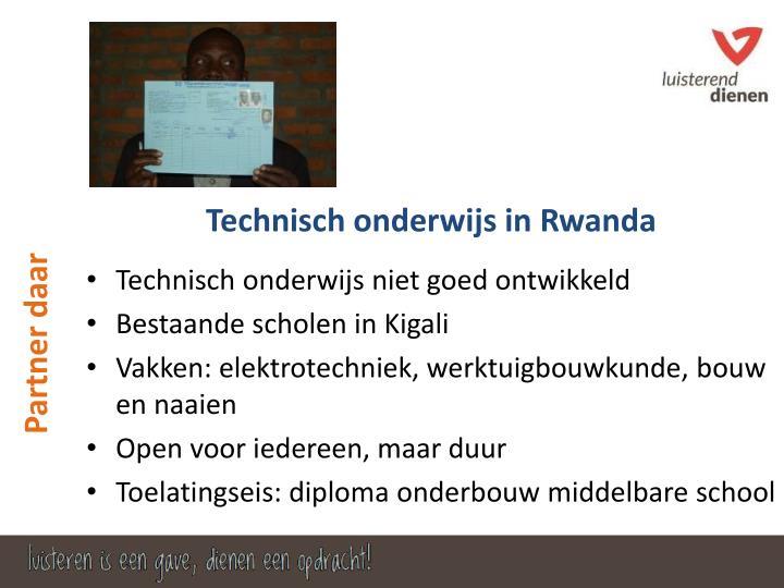Technisch onderwijs niet goed ontwikkeld