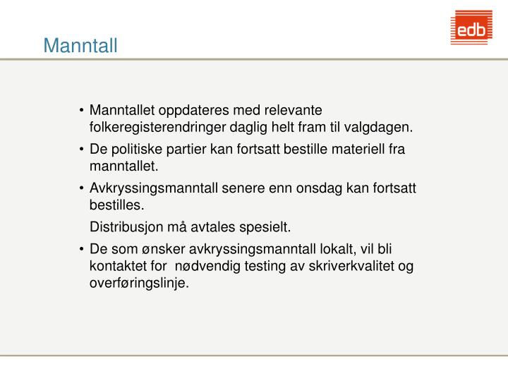 Manntall