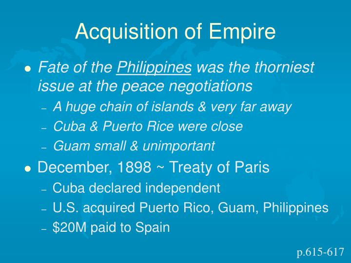 Acquisition of Empire