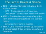 the lure of hawaii samoa1