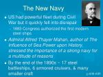 the new navy