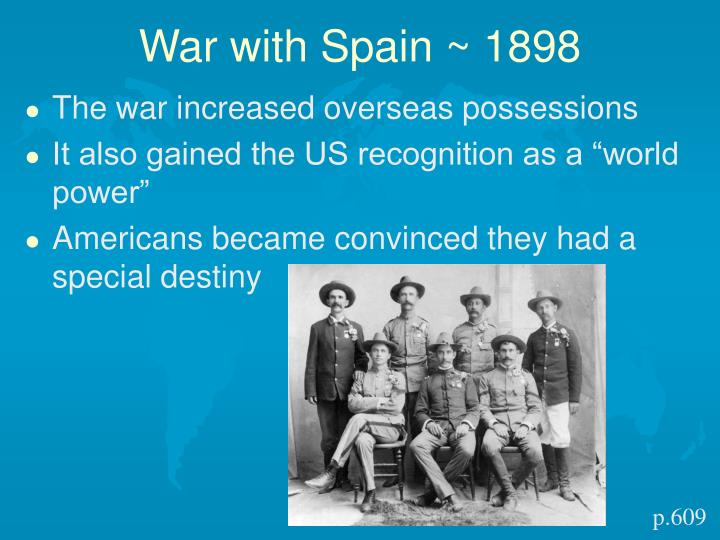 War with Spain ~ 1898
