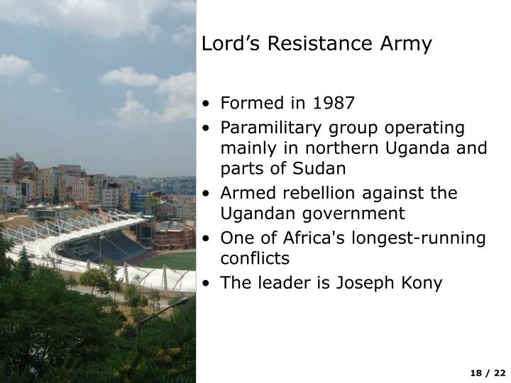 Lord's Resistance Army