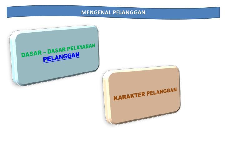 MENGENAL PELANGGAN