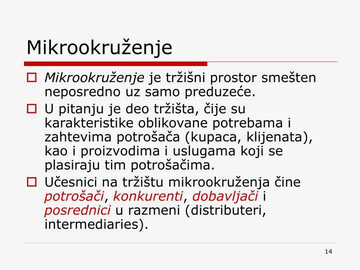 Mikrookruženje