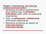 pojam marketing okru enja