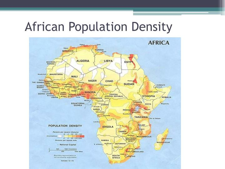 African Population Density