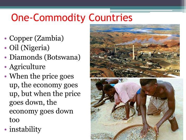 One-Commodity Countries