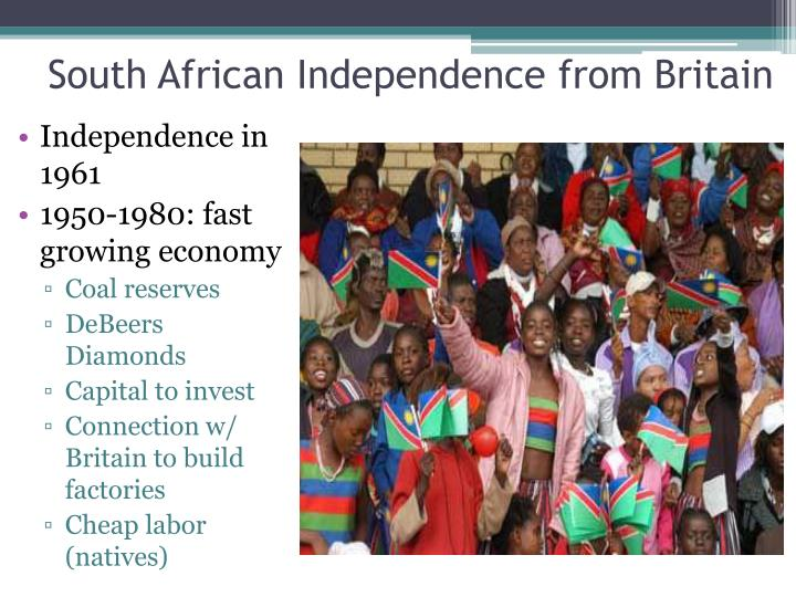 South African Independence from Britain