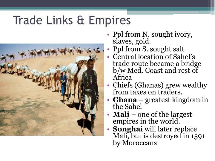 Trade Links & Empires