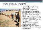 trade links empires