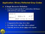 application binary reflected gray codes3