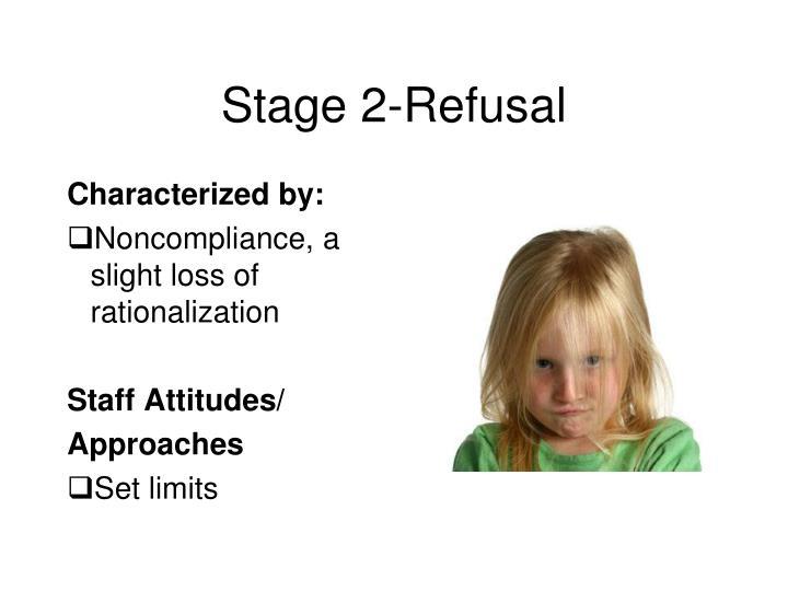 Stage 2-Refusal