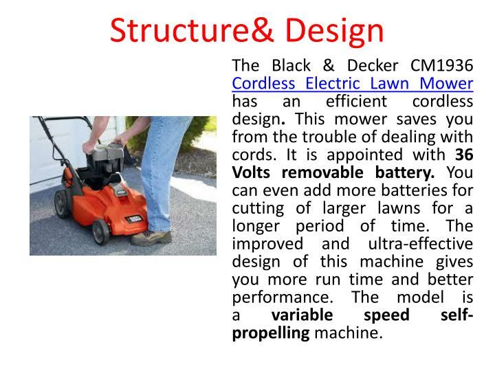 Structure& Design