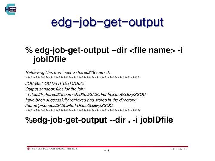 edg-job-get-output