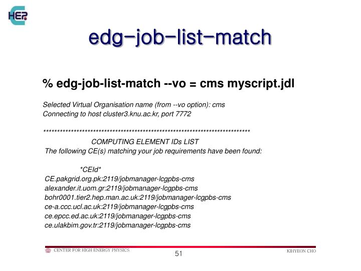 edg-job-list-match