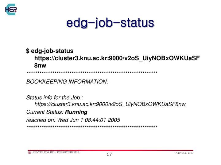 edg-job-status