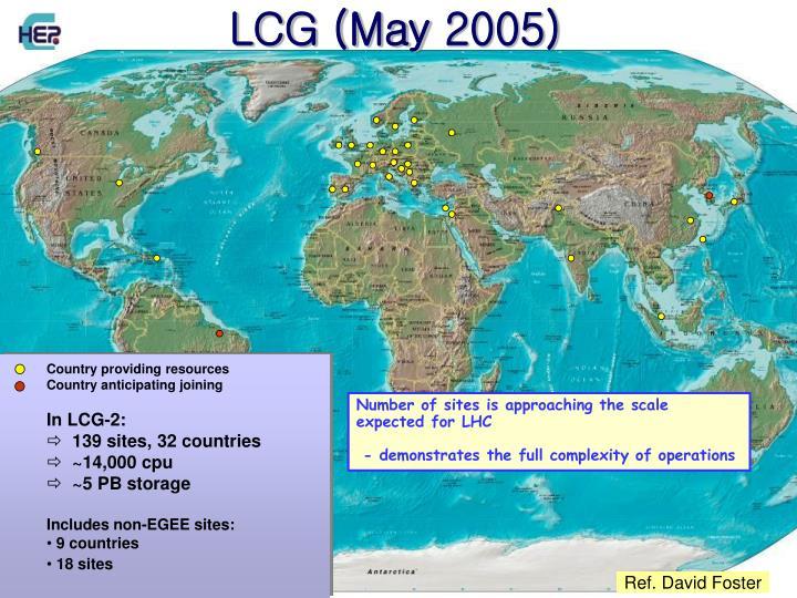 LCG (May 2005)