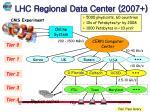 lhc regional data center 2007