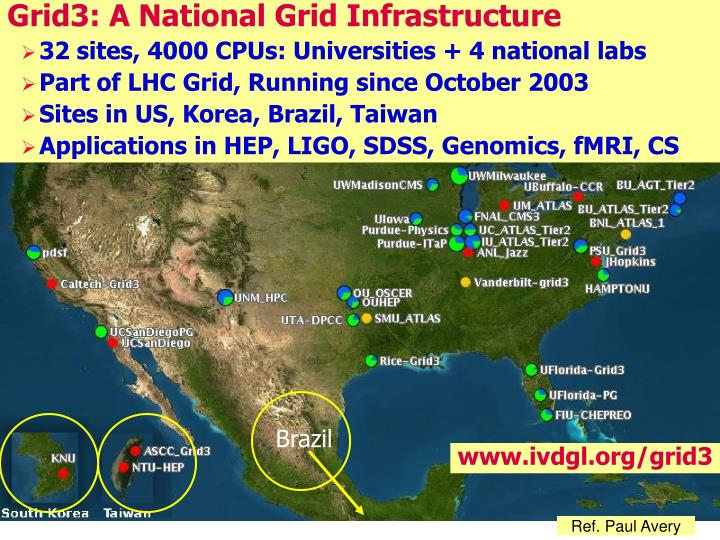 Grid3: A National Grid Infrastructure