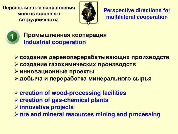 Промышленная кооперация
