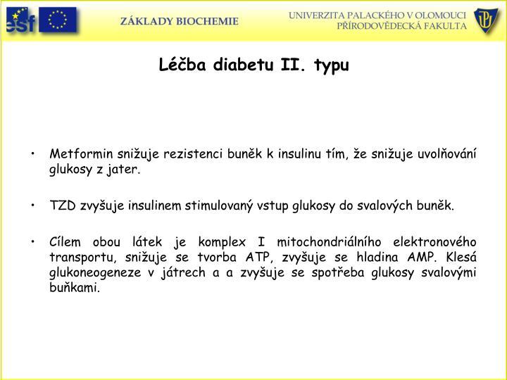 Léčba diabetu II. typu